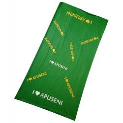 Bandană I Love Apuseni verde