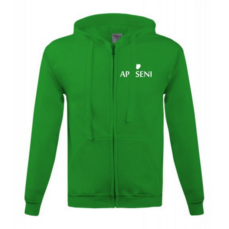 Hanorac I Love Apuseni verde