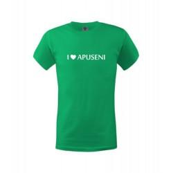 Tricou I Love Apuseni copii, verde