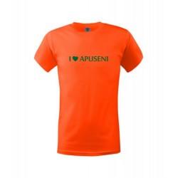 Tricou I Love Apuseni copii, portocaliu
