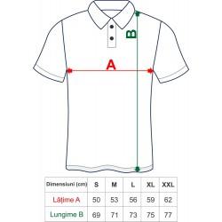 Tricou polo I Love Apuseni bărbați