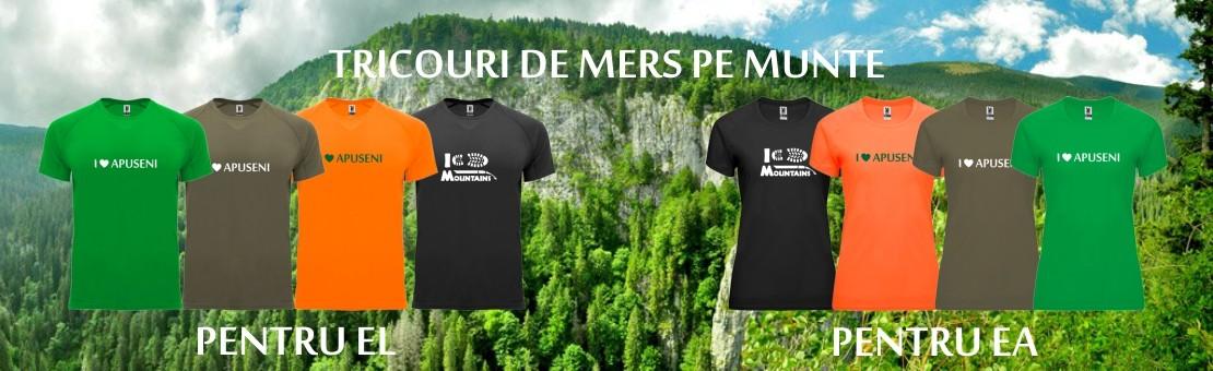 Tricouri pentru mers pe munte